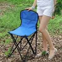 思故轩折叠椅凳子户外便携式沙滩椅 靠背钓鱼椅凳 马扎小凳子152