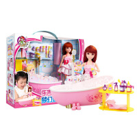 萌味 芭比洋娃娃 仿真娃娃玩具 乐吉儿换装惊喜洋娃娃大礼盒套装 女孩生日礼物