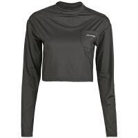 运动上衣女长袖t恤速干休闲透气瑜伽服跑步健身衣