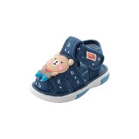 0-1-2-3岁婴儿软底鞋学步鞋叫叫鞋布鞋男宝宝凉鞋夏女宝宝鞋子