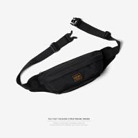 潮牌背包男士斜挎包单肩包户外运动腰包帆布胸包男手机证件小包包