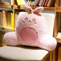 抱枕靠垫办公室汽车腰靠可爱沙发靠枕床头孕妇护腰腰枕椅子大靠背 可拆洗(宽*高*厚 60*50*20厘米)(适合大