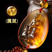 琉璃貔貅镇途车挂太岁将军汽车挂件车内挂饰吊饰品