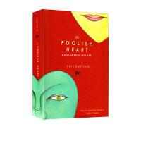 现货英文原版 My Foolish Heart: A Pop-Up Book of Love 精装艺术立体书 爱的礼品书