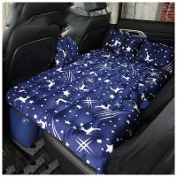 车载充气床汽车床垫车震床suv轿车后排旅行床车后座分体式气垫床