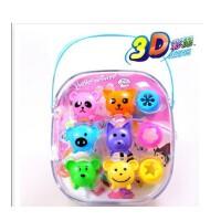 智高3D彩泥DD-5030 智高12色动物彩泥 益智彩泥玩具
