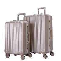 春季拉杆箱潮流时尚行李箱铝框旅行箱万向轮女男学生密码箱包20英寸皮箱子情侣旅游登机箱