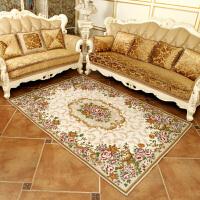 欧式客厅地毯沙发茶几垫卧室床边门厅满铺长方形简约现代美式田园