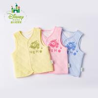 迪士尼Disney童装儿童马甲秋冬新款夹棉男女宝宝保暖背心上衣174S976