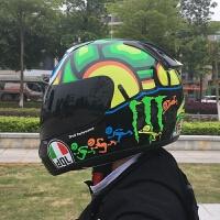 摩托车头盔男女士头盔四季全盔卡丁车赛车越野双镜片机车防雾个性 X
