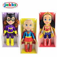 六一儿童节礼物 杰克仕DC女英雄神奇女侠神力女超人蝙蝠女公主娃娃女孩玩具公仔过家家玩具