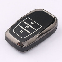 适用于丰田雷凌钥匙包新卡罗拉汉兰达皇冠凯美瑞普拉多汽车钥匙套