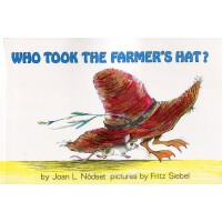 #英文绘本 原版进口 Who Took the Farmer's Hat? 谁拿走了农民的帽子? [4-8岁]