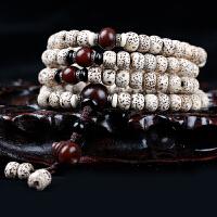 天然星月菩提子手串 正月干磨高密度佛珠108男士女情侣手链文玩 生日礼物