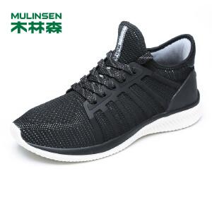 木林森男鞋 男士轻质透气运动休闲鞋 05177629