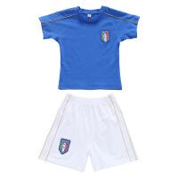 儿童足球服短袖套装男女童足球训练服中小学生足球队队服校服园服 男女同款