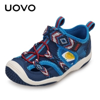 【1件3折价:86元】UOVO新款2021夏季儿童包头凉鞋卡尔加斯男童凉鞋女童卡尔加斯
