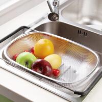 不锈钢水槽沥水架碗碟收纳架厨房用品餐具置物架蔬菜沥水篮放碗架