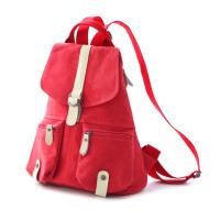 初中学生高中书包双肩女包女士背包大容量帆布休闲旅游包