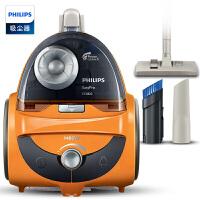 飞利浦(PHILIPS)吸尘器FC5822卧式大功率除螨无耗材大吸力家用地板吸尘器