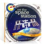 【发顺丰】英文原版 On the Space Station 探秘宇宙空间站 小达尔文大发现系列 3-6岁低幼儿童启蒙
