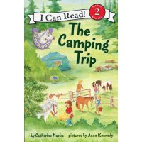 英文原版 Pony Scouts: The Camping Trip 小马童子军:去野营
