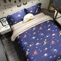 卡通恐龙四件套纯棉儿童床品三件套1.5/1.2m床 男孩被套床单上新
