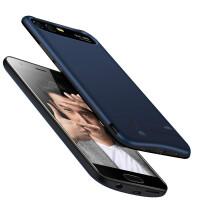 华为P20荣耀9/8背夹电池V10充电宝mate10手机壳便携式pro 荣耀9 (大容量版)魅海蓝