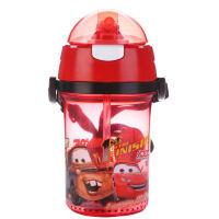 儿童吸管水杯宝宝婴儿背带夏季水壶幼儿园小孩喝水杯子防摔a232