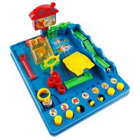 儿童6岁冲关闯关弹滚珠平衡珠智力游戏3d立体迷宫玩具走珠
