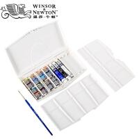 温莎牛顿歌文水彩颜料管状水彩画颜料套装12色16色固体水彩套装