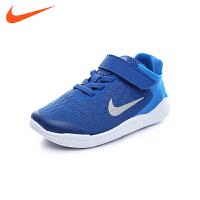 耐克nike童鞋18春夏新款运动鞋男女童跑步鞋网面透气休闲鞋 (5-10岁可选) AH3452 003