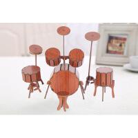 家居房间装饰摆件创意木质模型钢琴迷你乐器送女孩男孩生日礼物