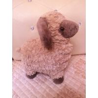 毛绒小羊玩具可爱布娃娃汽车摆件玩偶婚庆娃娃情人节生日礼物