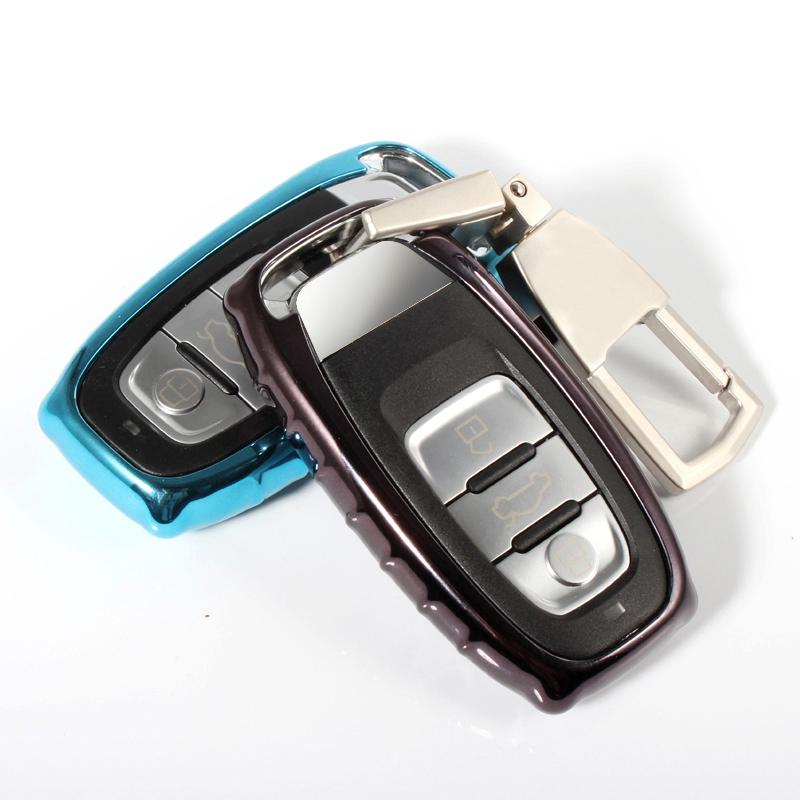 20181231094138419奥迪钥匙包专用于A6L A4L A5 A7 A8L Q5 S5汽车钥匙保护套/壳/扣  凡莱汽车祝您安全出行,平安回家,对产品有疑问请联系客服哦~