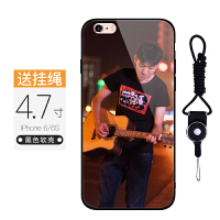 iphone6splus手机壳定制苹果6/6S玻璃壳定制6plus玻璃壳diy男女款
