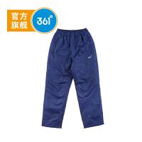 【下单立减2.5折价:59.8】361°男童棉长裤加厚春冬季新品休闲保暖裤K51742782