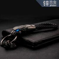 豹头汽车钥匙扣男腰挂件个性车钥匙扣圈环男士礼品