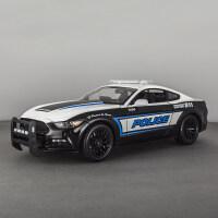 1 18福特野马车模肌肉车改装仿真跑车合金汽车模型 车模型