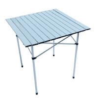 户外卷帘折叠桌 铝合金桌 烧烤桌 野餐桌子 露营活动桌