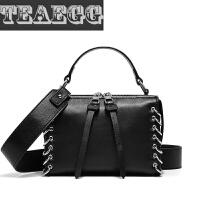 TEAEGG品牌新款女包包时尚韩版手提小包单肩斜挎包头层牛皮女包SN5094