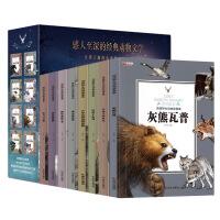 西顿野生动物故事集 全8册 不注音 西顿动物记科普绘本 一二三四五六年级小学生课外阅读书籍 6-8 9-12岁青少年阅