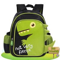智高 ZG-8717 绿色 卡通恐龙 男童宝宝儿童书包 可爱卡通玩具双肩背包 幼儿园 当当自营
