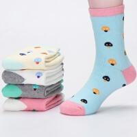 冬季儿童袜子纯棉男童女童秋冬3加厚保暖5宝宝加绒7棉袜9岁中大童