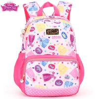迪士尼公主女童书包1-2年级小学生韩版双肩包女孩减负6儿童7背包8