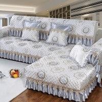 沙发垫欧式布艺四季通用客厅防滑沙发套全包�f能套沙发罩巾全盖