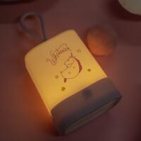 独角兽小夜灯可USB充电 可爱创意少女心浪漫婴儿喂奶卧室床头台灯
