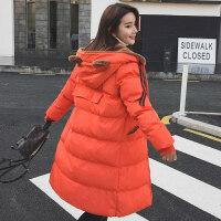 冬装新款韩版棉衣女加厚保暖小熊连帽学生外套棉袄女
