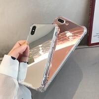 20190603010010345补妆神器iPhoneX镜子手机壳6苹果7plus网红同款镜面防摔软壳8P女款ipho