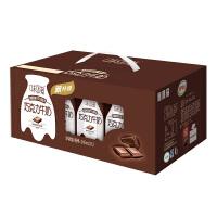 伊利【12盒*2提】 味可滋巧克力牛奶240ml*24盒 礼盒装
